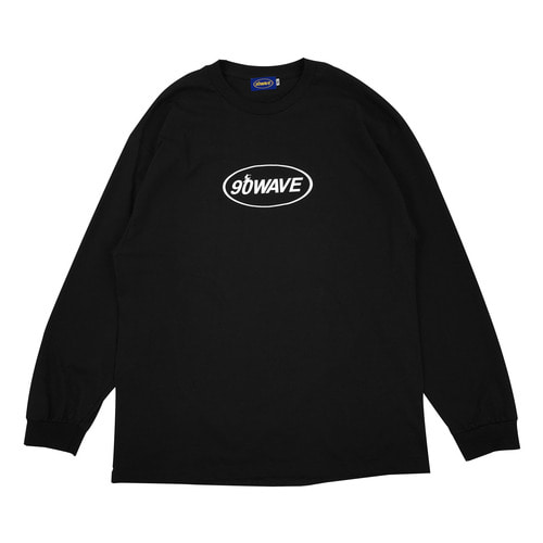 90WAVE 18FW T-SHIRT (블랙)