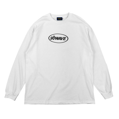 90WAVE 18FW T-SHIRT (화이트)